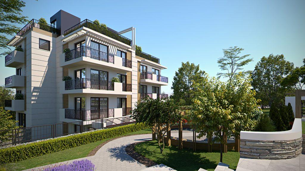 апартамент на партерен етаж с двор София